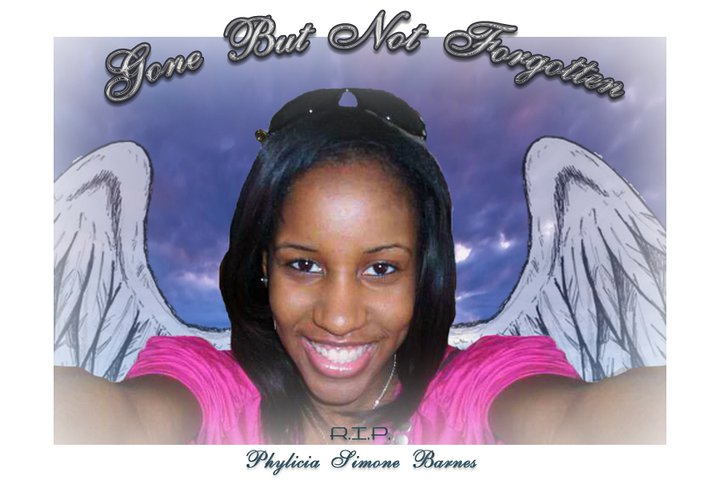 Phylicia Barnes…Very Sad!